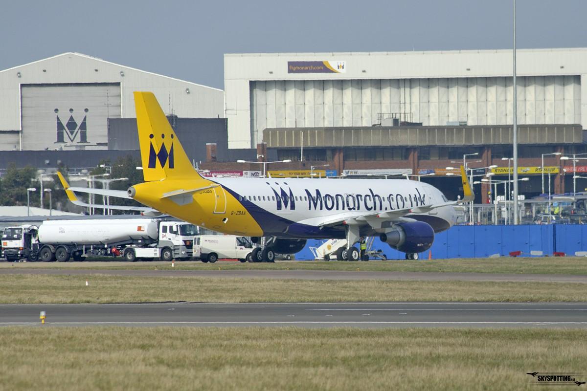 A320 CEO Monarch