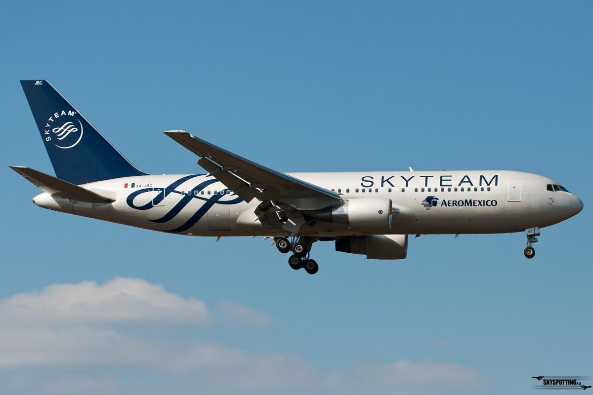 B767-AeroMexico-skyteam-XA-JBC