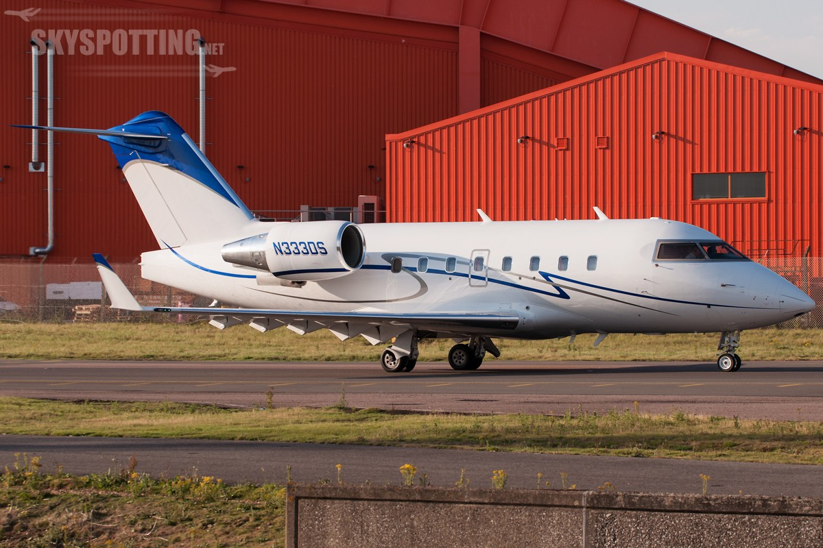Canadair-CL-600-2B16-Challenger-604-N333DS