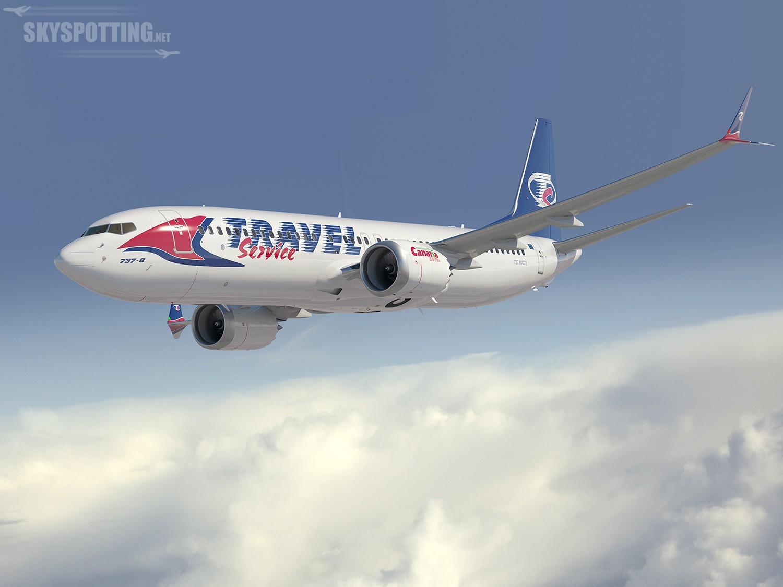 Travel Service zamówił trzy samoloty Boeing 737 Max 8