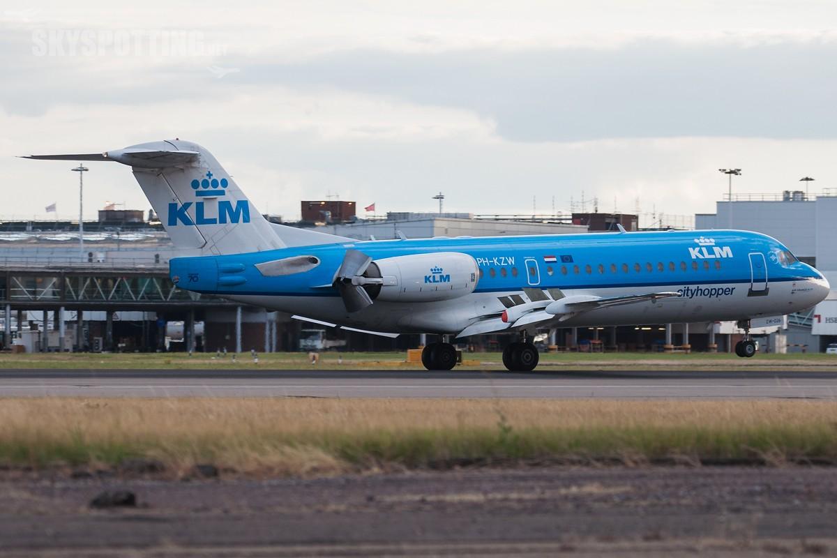 Fokker-70-KLM-Cityhopper-PH-KZW