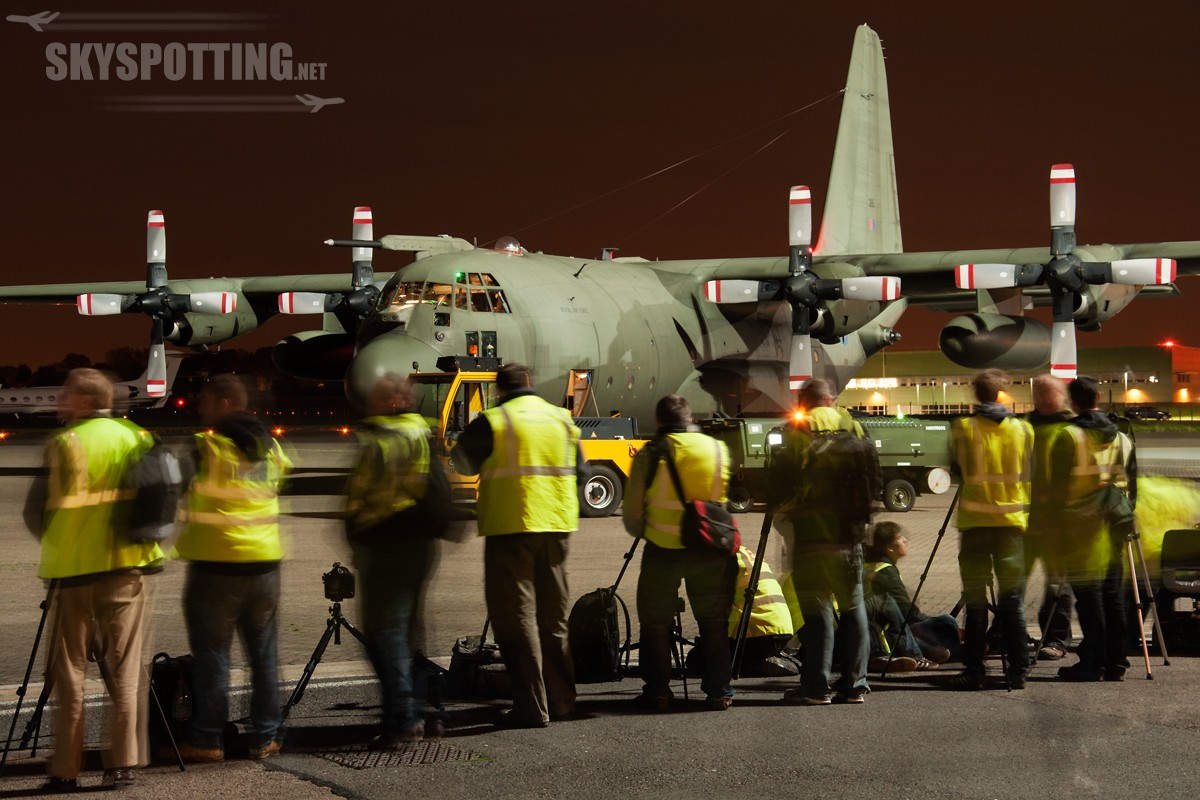 RAF Northolt – Night Photoshoot XV