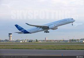 Drugi samolot Airbus A350 pomyślnie zakończył pierwszy lot testowy.