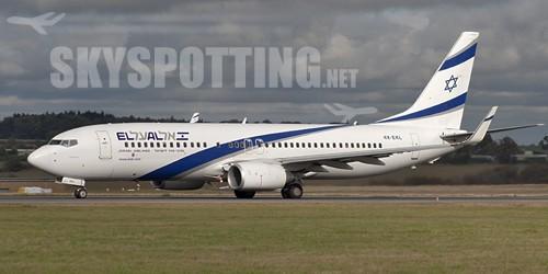 Boeing dostarczył liniom lotniczym  EL AL pierwszy samolot 737-900ER Next-Genaration