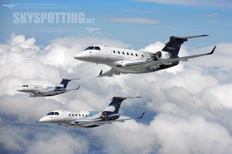 Pełna wystawa Embraer Executive Jets na NBAA