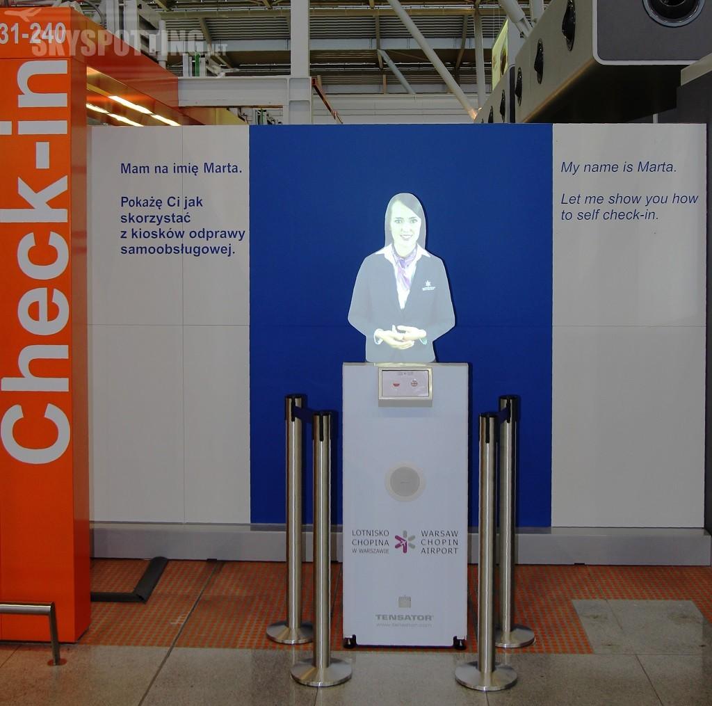 Wirtualny Asystent pomoże w odprawie na Lotnisku Chopina