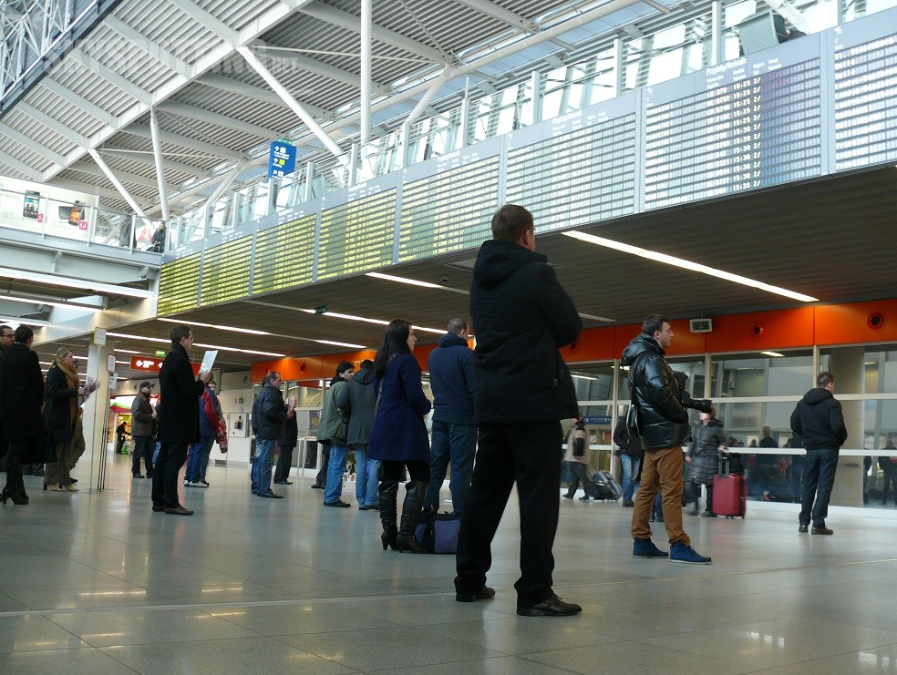 Grudzień: 7,2 proc. więcej pasażerów na Lotnisku Chopina