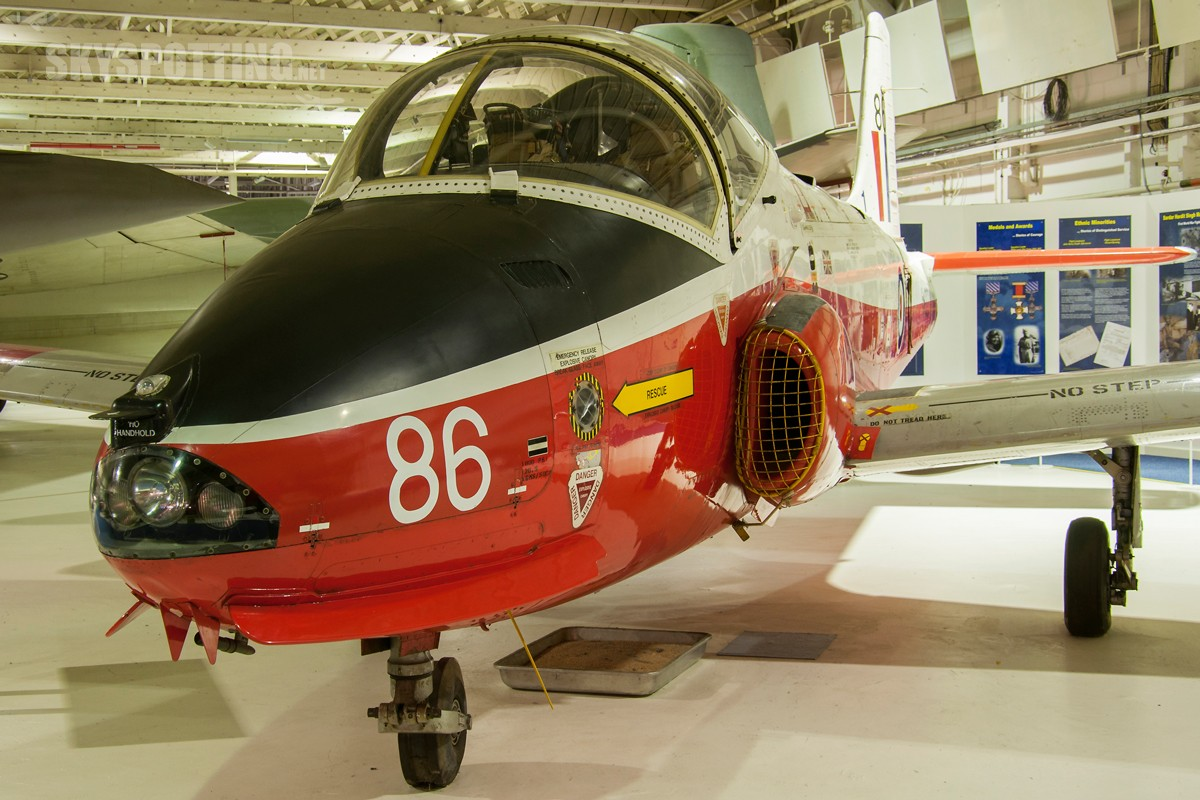 Hunting-Percival-Jet-Provost-T5A-XW323