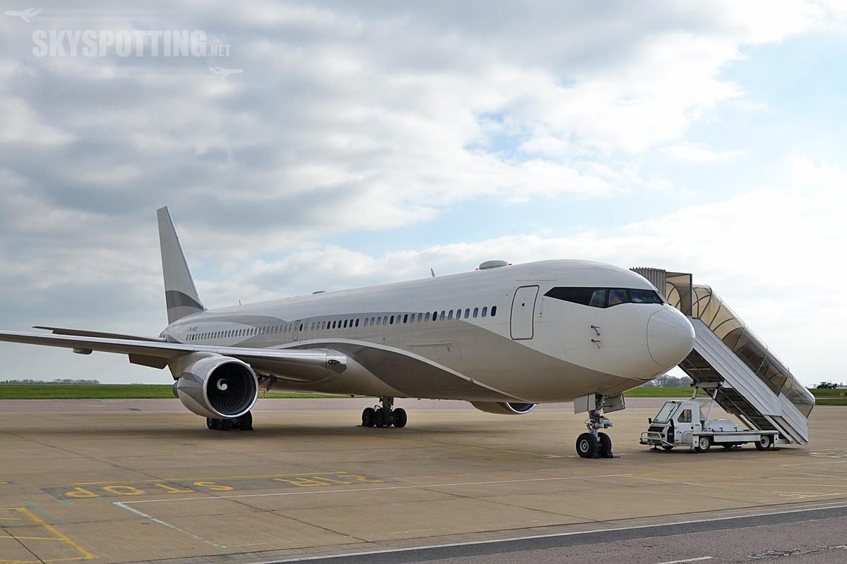 Business Jets na lotnisku London Luton
