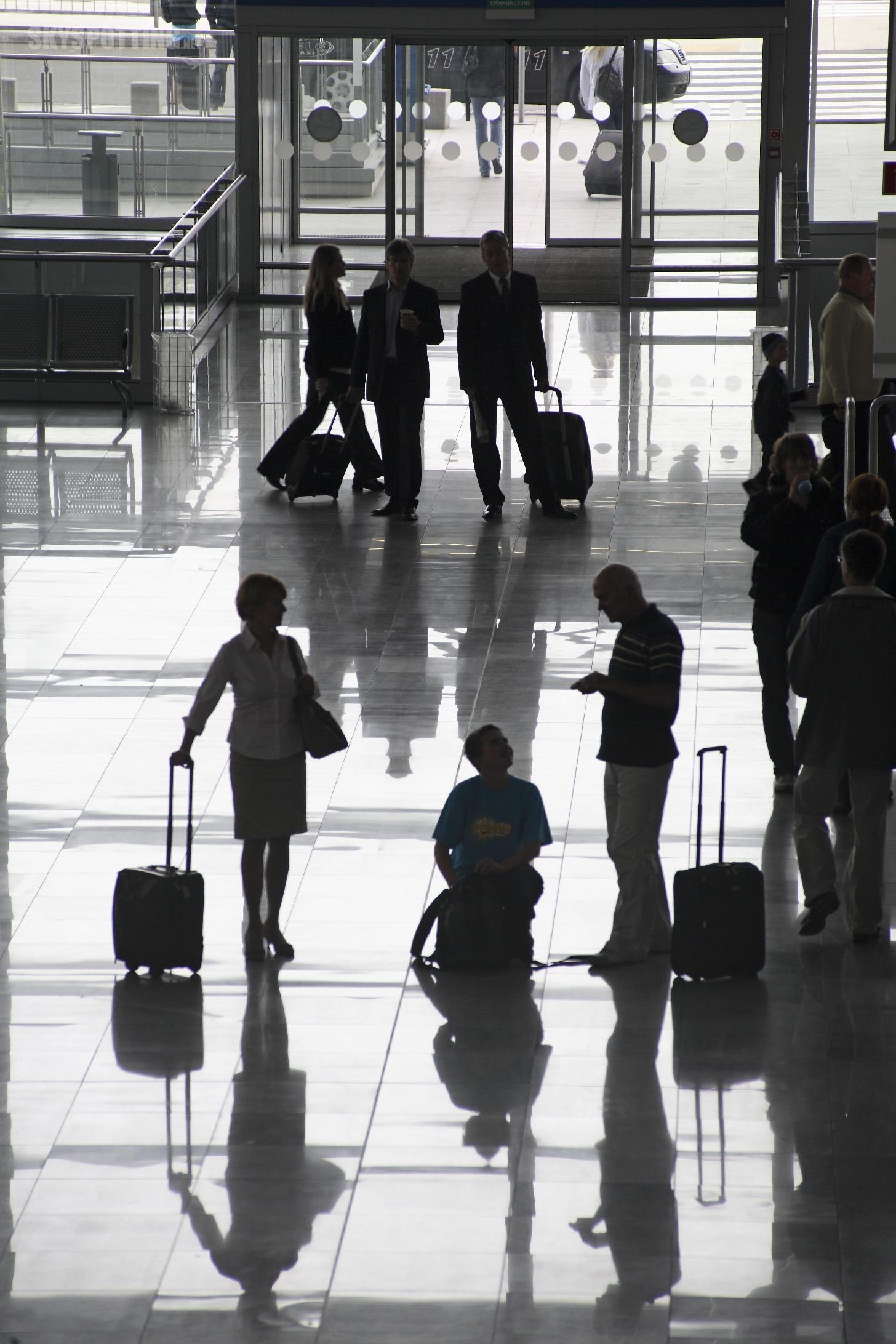 Marzec: 727 tysięcy pasażerów na Lotnisku Chopina