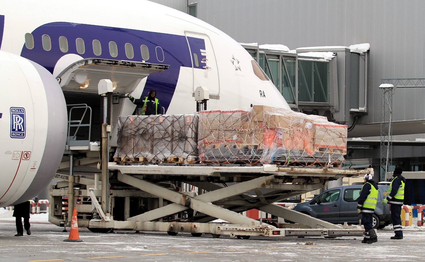 Wzrost ruchu cargo w I kwartale na Lotnisku Chopina