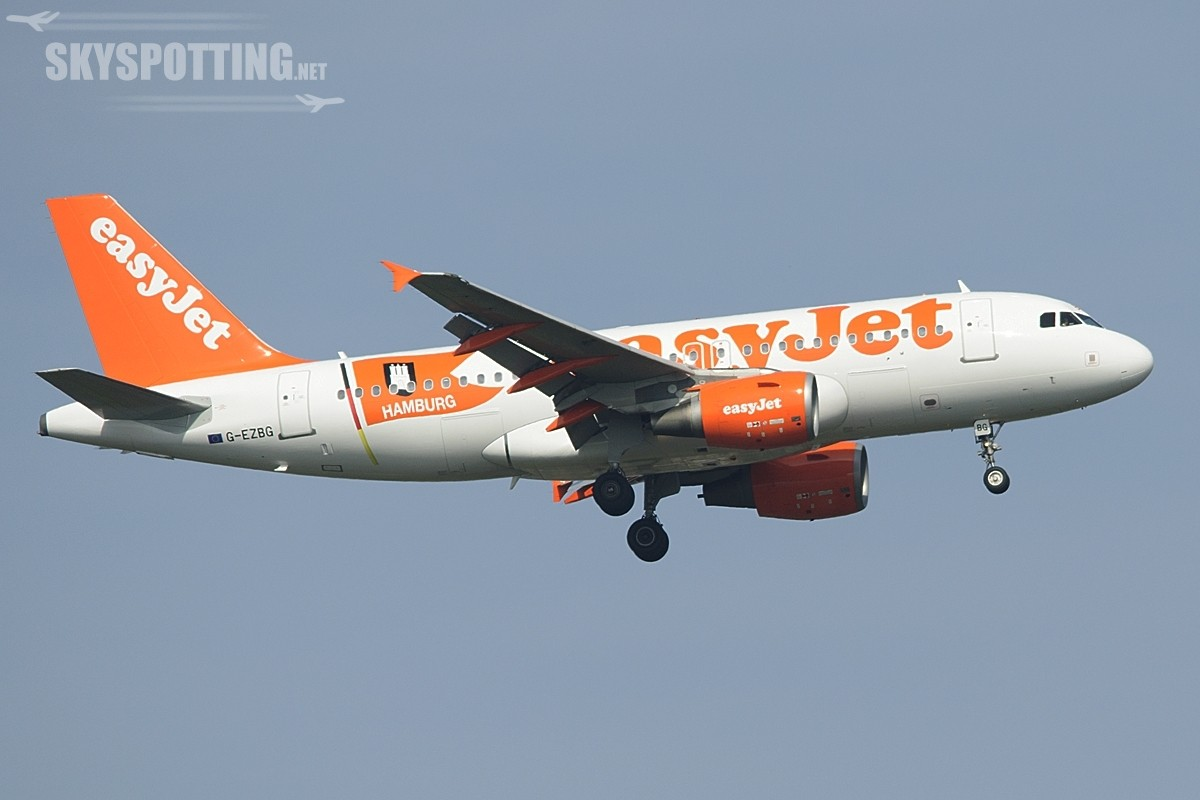 EasyJet z Krakowa do Hamburga