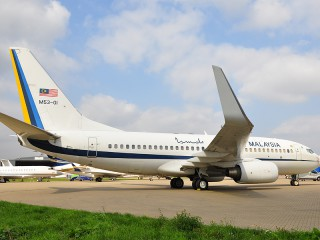 M53-01 , Malaysia - Air Force , Boeing 737-7H6 BBJ