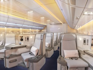 1Finnair A350 XWB Business class cabin