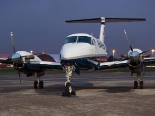 Beechcraft-B200-Super-King-Air-RAF-ZK455