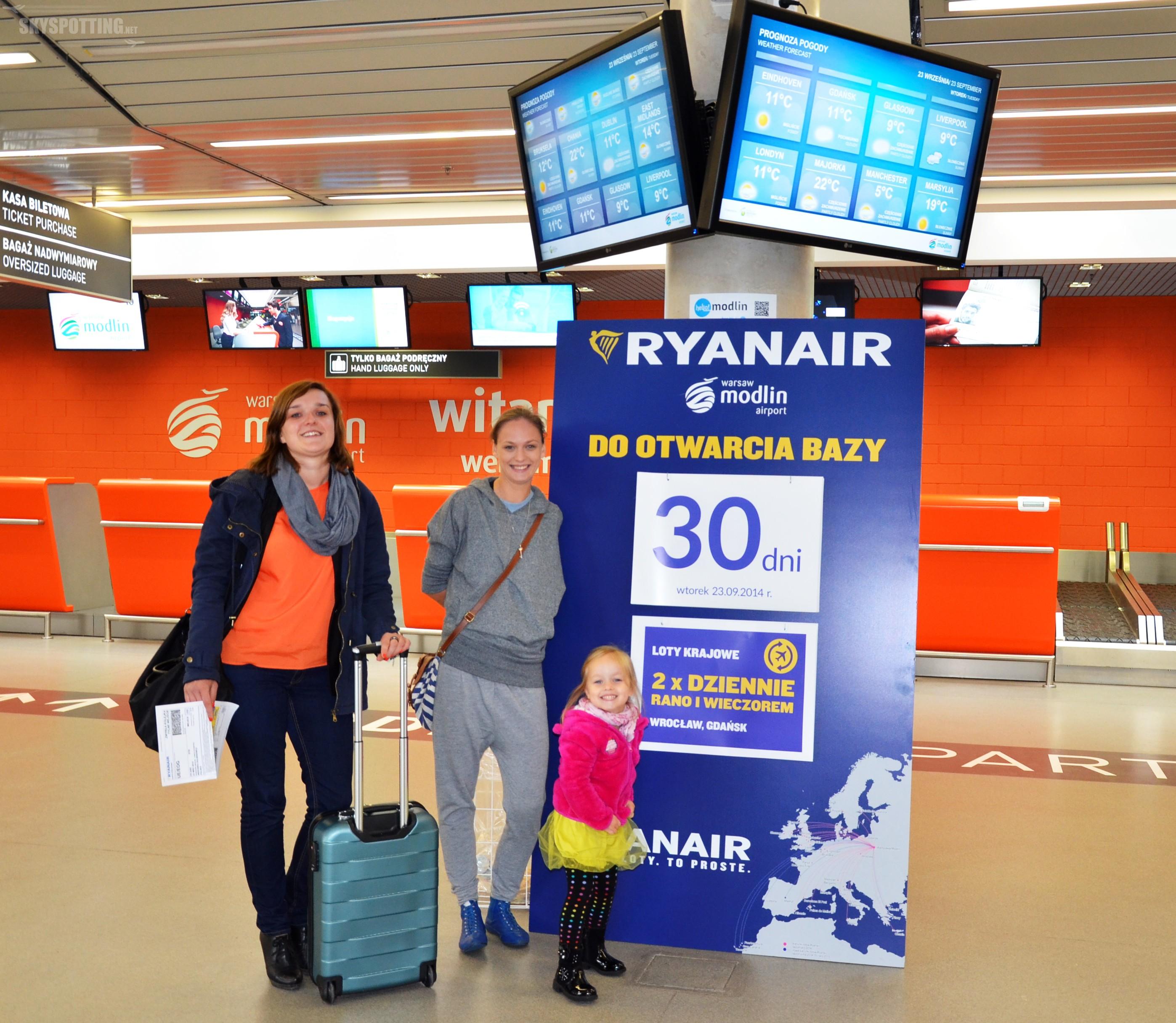 Modlin: Już tylko 30 dni do otwarcia bazy Ryanair