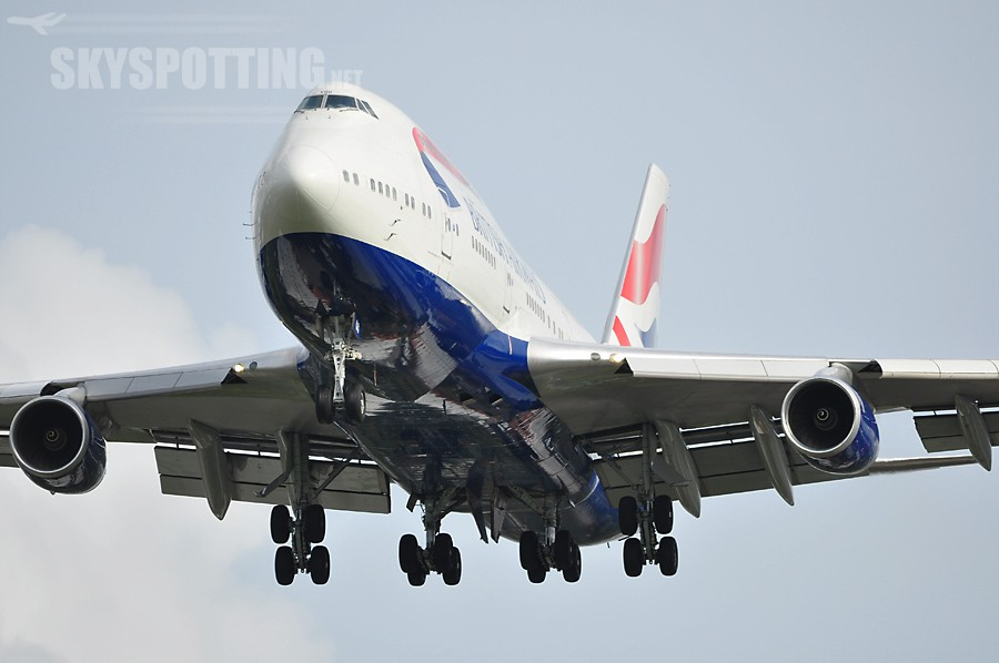 G-BYGG British Airways Boeing 747-436