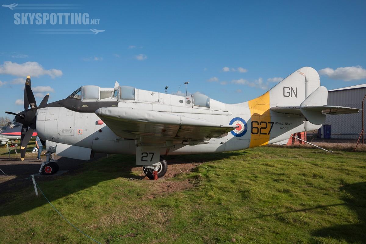 Fairey-Gannet-T2-XA508