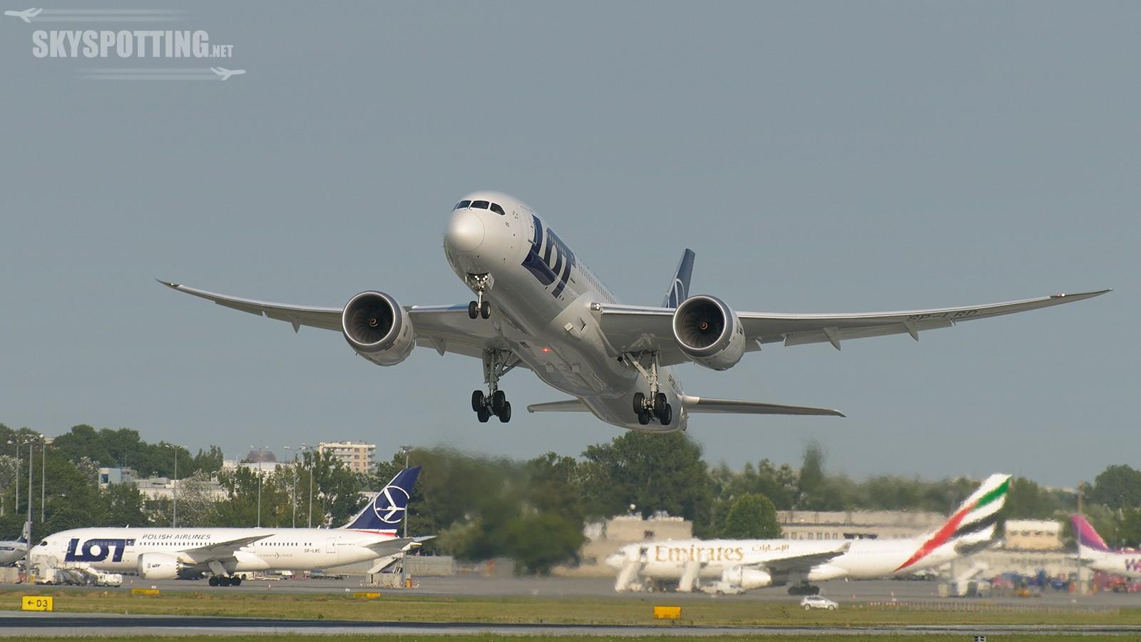 Dreamliner LOT-u poleci do obu Ameryk dla Air Europa!