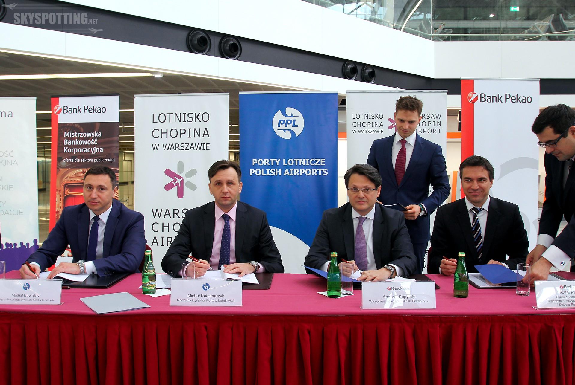 600 mln zł na rozbudowę Lotniska Chopina