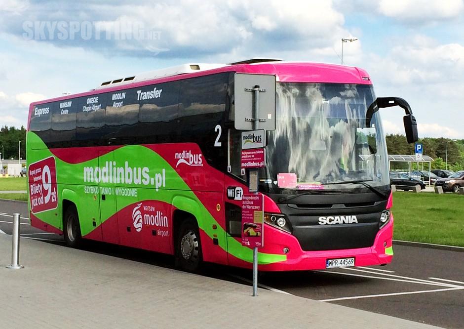 Nowe trasy ModlinBus