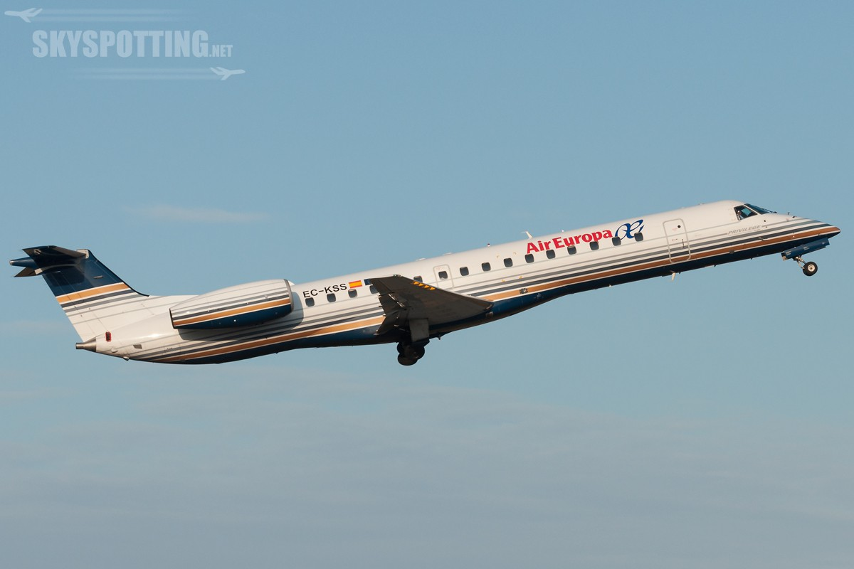 Embraer-ERJ-145-Air-Europa-EC-KSS