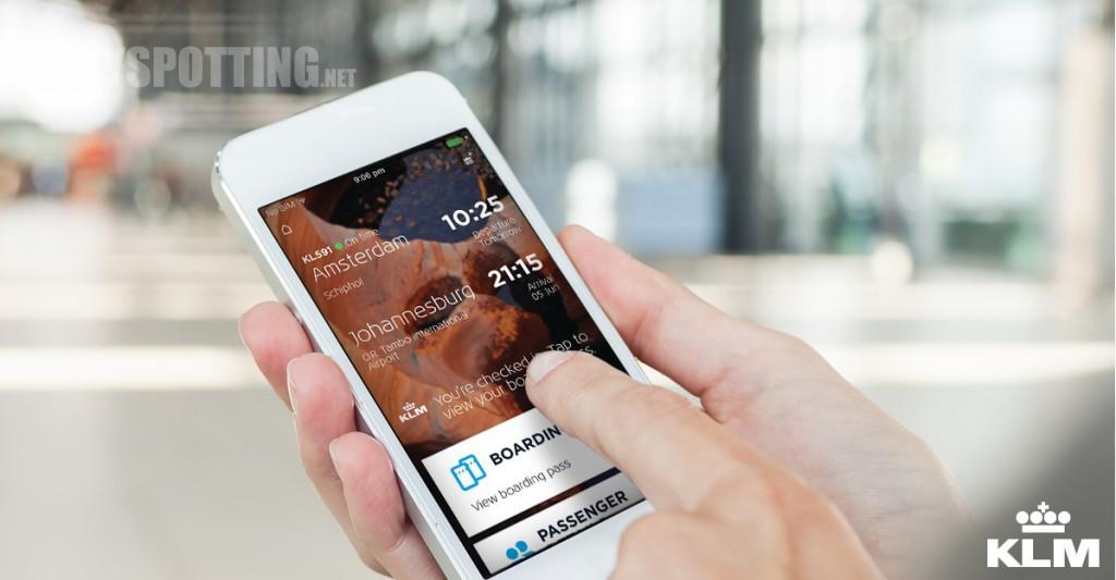 Aplikacja KLM ułatwiające podróżowanie