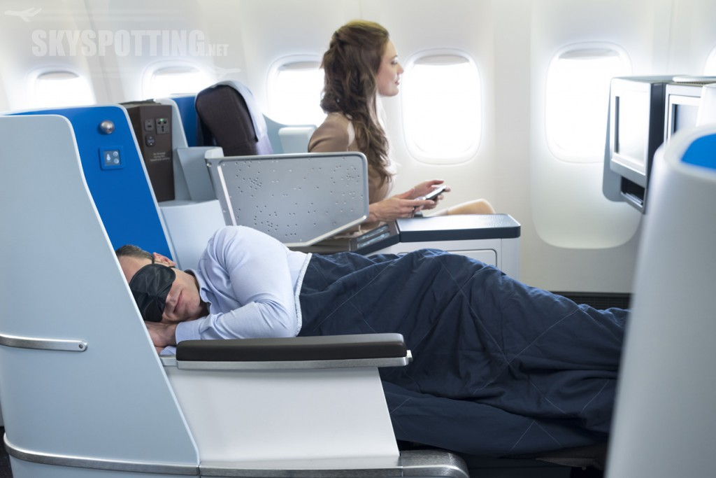 World Business Class KLM
