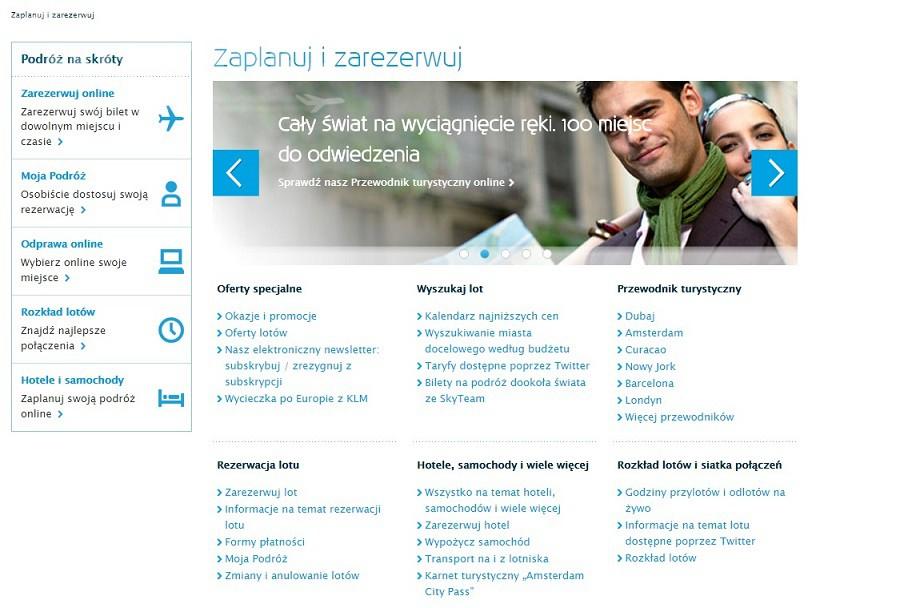 Strona KLM w polskiej odsłonie! _2