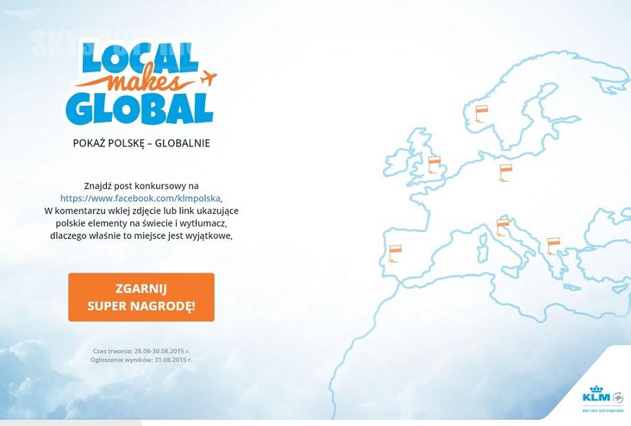 Konkurs KLM _Local makes global_