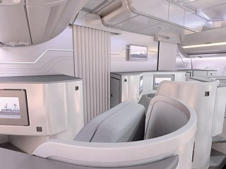 Finnair A350 XWB Business Class Cabin 04 LR