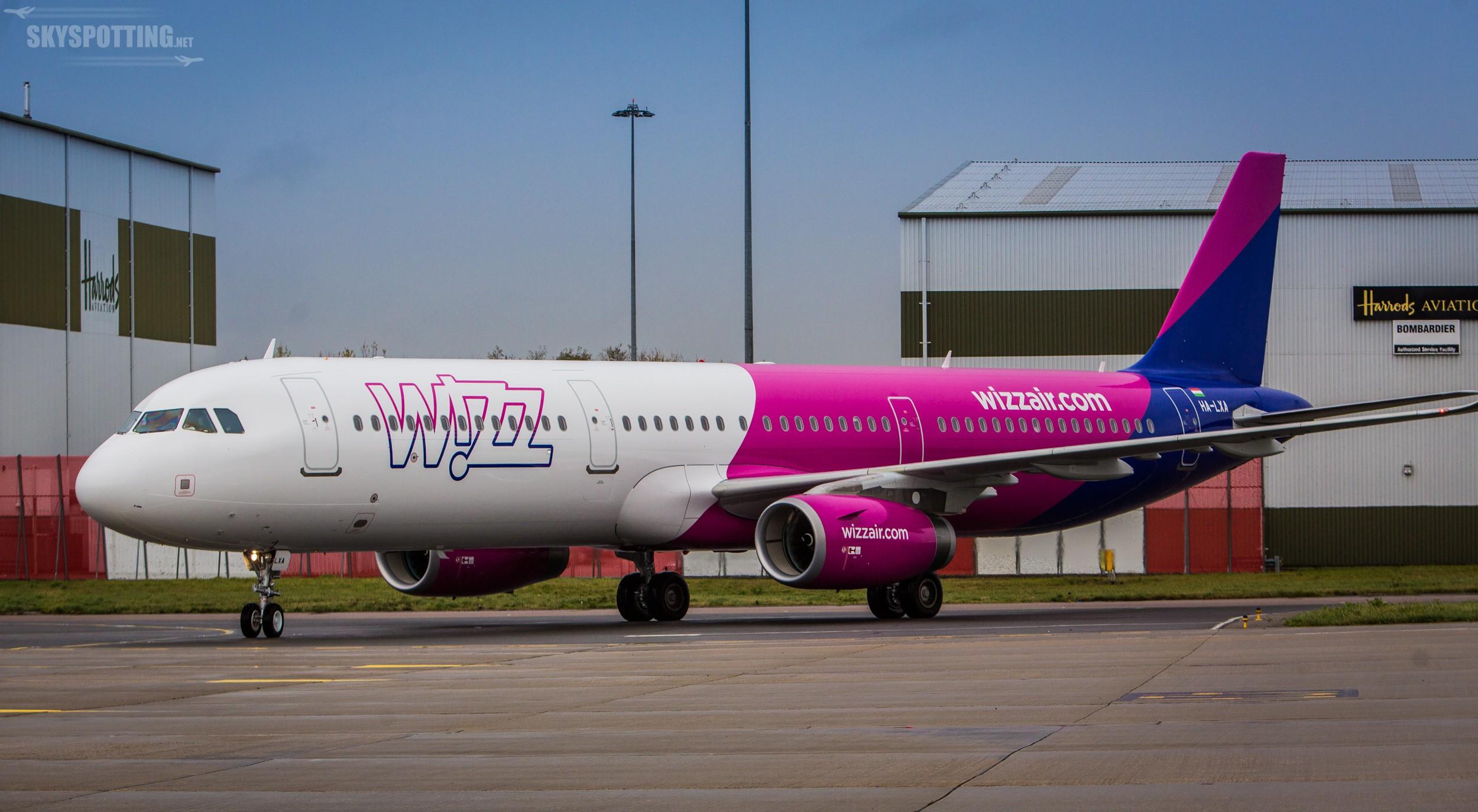 Pierwszy Airbus A321ceo we flocie Wizz Air
