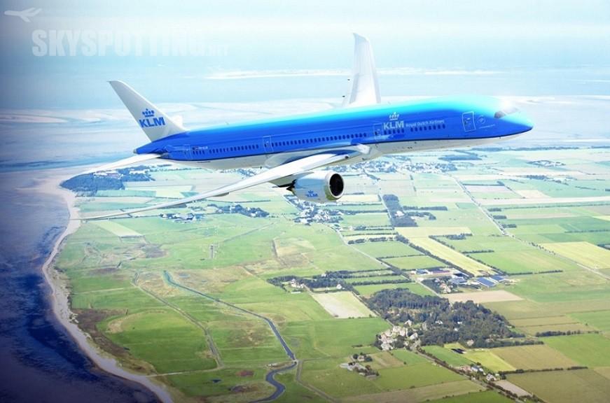 Boeing 787 Dreamliner w barwach KLM_2