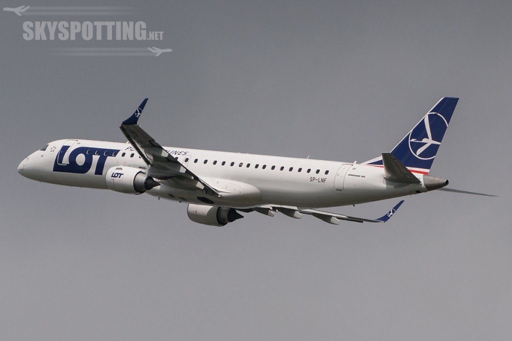 Embraer 195 LOT SP-LNF