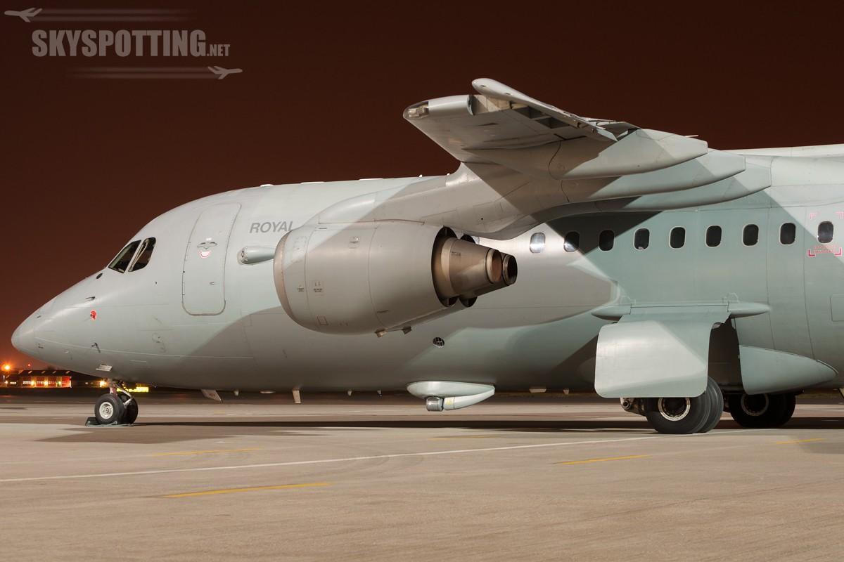 British-Aerospace-BAe-146-C3-ZE707