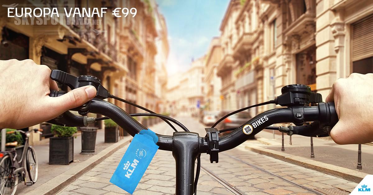 Promocja KLM w Europie