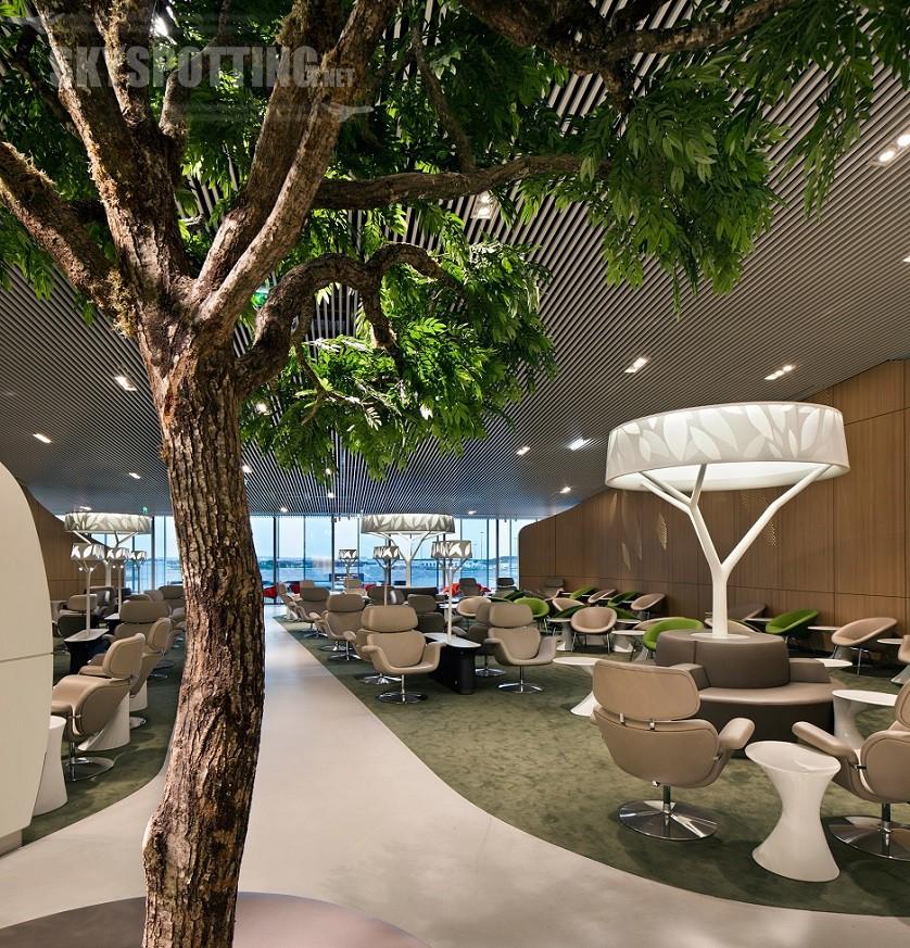 Poczekalnia biznesowa Air France - paryskie lotnisko