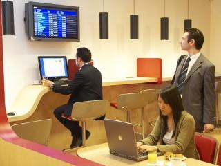 Poczekalnia biznesowa na lotnisku Air France