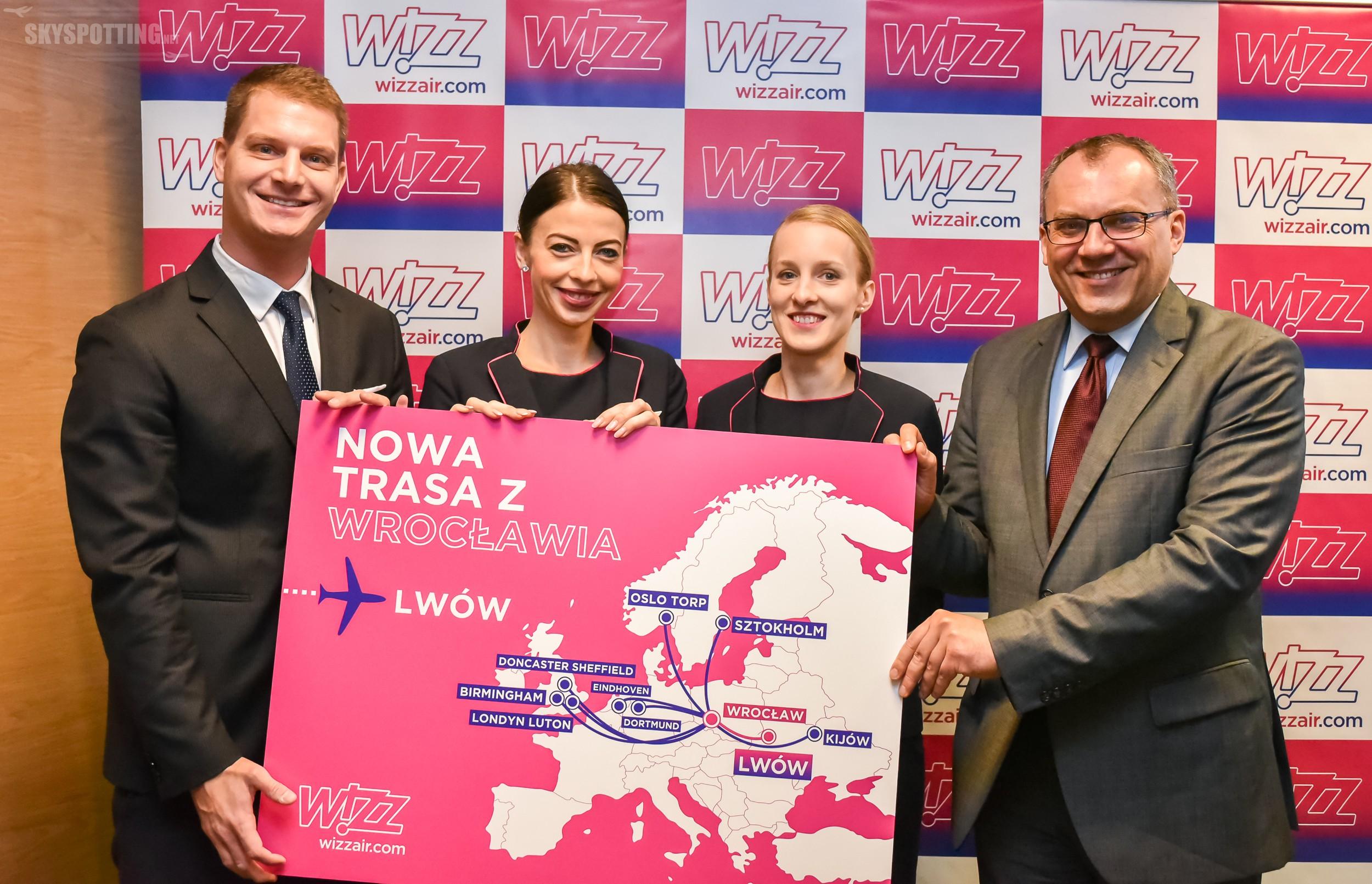 Wizz Air ogłasza nową trasę z Wrocławia do Lwowa