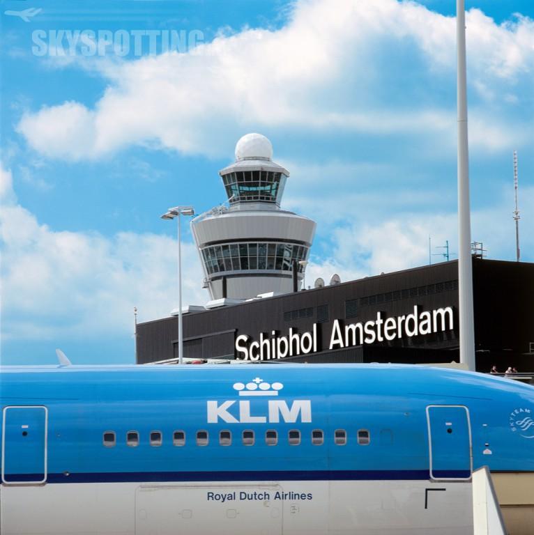 Lotnisko Schiphol baza KLM