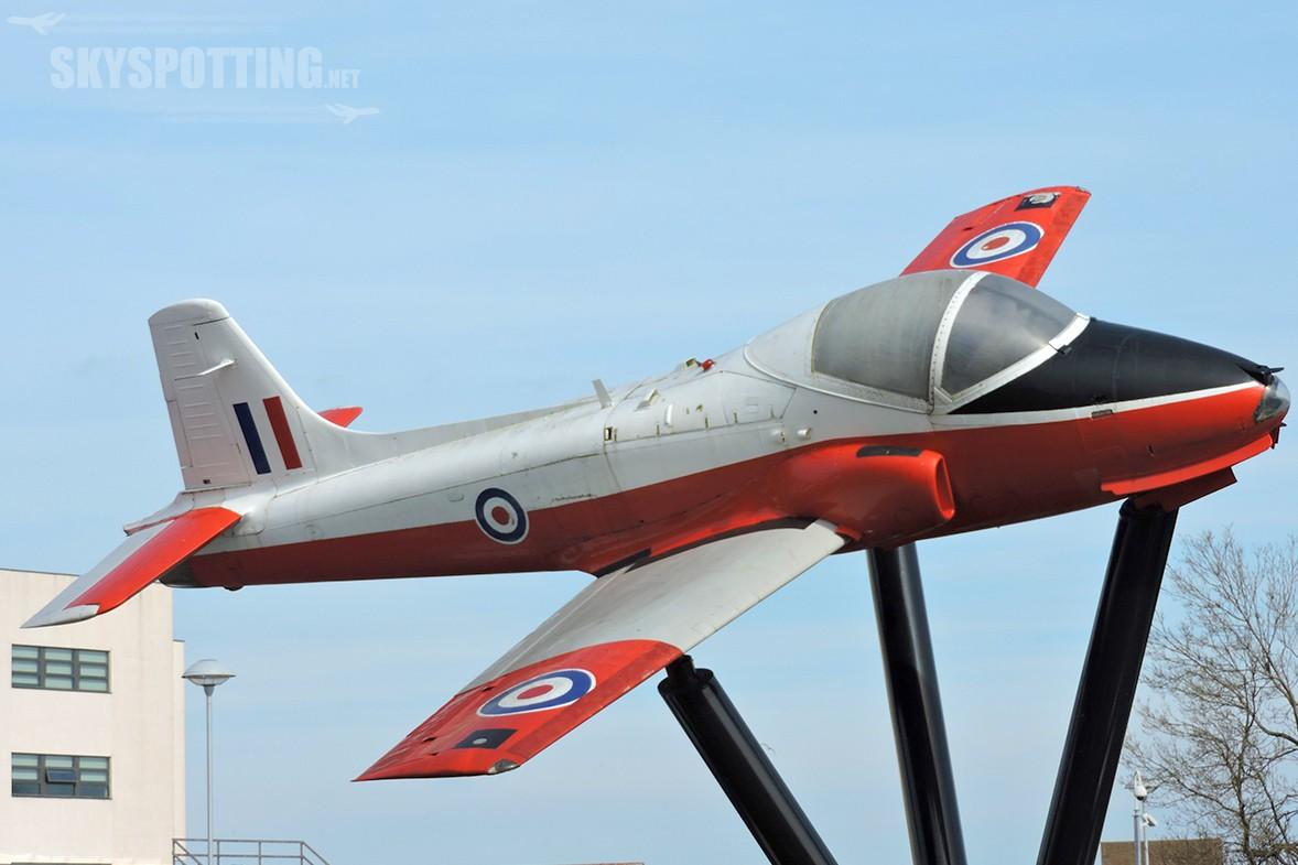 Śladami pomników lotniczych, część 5 – Jet Provost (Hartlepool, Anglia)
