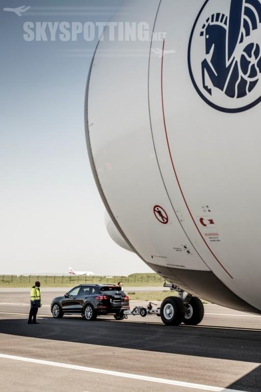 Cayenne i A380 Air France