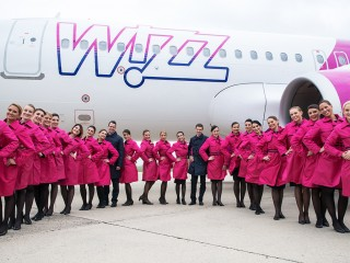 The current team of WIZZ Ambassadors