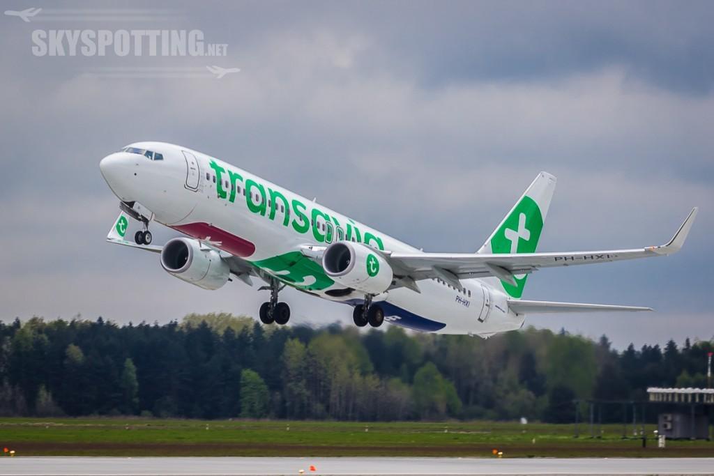 Transavia pierwszy start z Katowic
