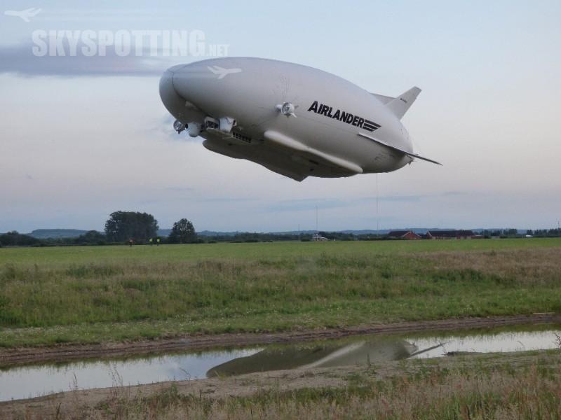 Airlander odbył kolejny udany lot testowy