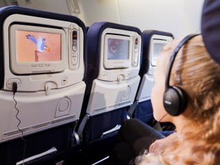 Air France system rozrywki pokładowej medytacja