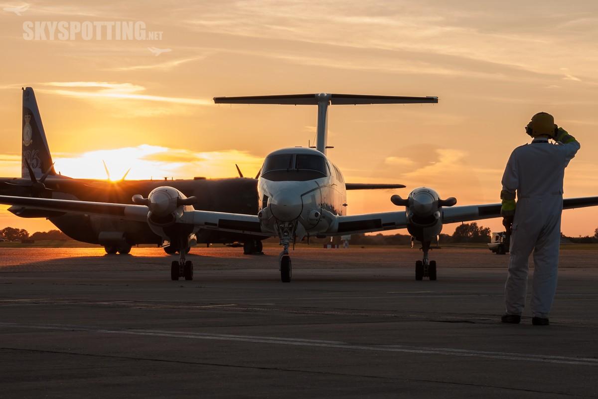 Beechcraft-C-12D-Huron-USAF-40157