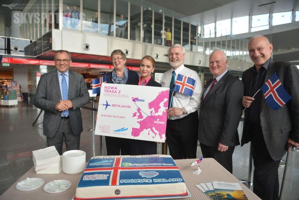 Wizz Air uruchamia trasę z Wrocławia na Islandię