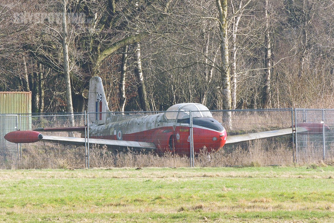 Śladami pomników lotniczych, część 11 – Jet Provost (Kinross-Balado, Szkocja)
