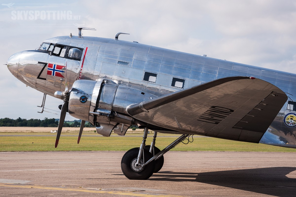 Douglas-DC-3-Dakota-Norway-LN-WND